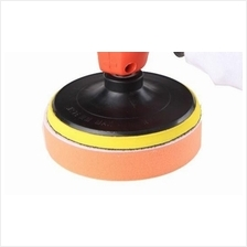 Flat Sponge Pad (125mm) For Car Wax Machine