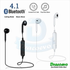 S6 Bluetooth Earphone In-Ear Sport Wireless Stereo Universal Running H