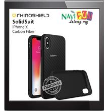 ★ RhinoShield SolidSuit Protective case iPhone X -Carbon Fiber