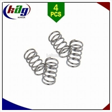 4pcs Heated Bed Platform Leveling Spring Carbon Steel Nickel Plating