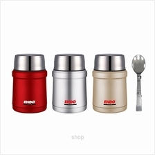 Endo 450ml Double Stainless Steel Food Jar - CX-4007