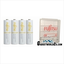 Fujitsu AA x4 2000mAh NiMH 1800 Cycle Rechargeable Battery Blister Pac