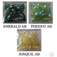 6mm AB #5000 Austrian Swarovski Crystal Round Colour Choice Mix C 20p