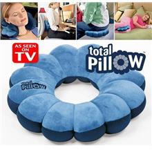 Versatile & Adjustable 5 in1 Total Pillow For Travel, Home & Office