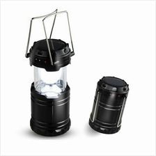 Solar Rechargeable Outdoor Camping Lantern Flashlight Torchlight