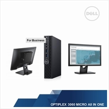 DELL OPTIPLEX 3060 MICRO AII IN ONE(I3-8100T,4GB,500GB,WIN10PRO,3YRS)