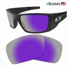 92b37d2a27e eBosses Polarized Replacement Lenses for Oakley Fuel Cell - Violet Pur
