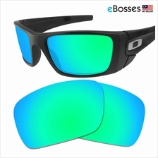 bd3b99973f1 eBosses Polarized Replacement Lenses for Oakley Fuel Cell - Emerald Gr