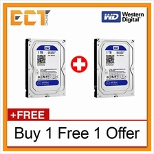 (Buy 1 Free 1) Western Digital 3.5' Caviar Blue 1TB 7200RPM 64MB Cache