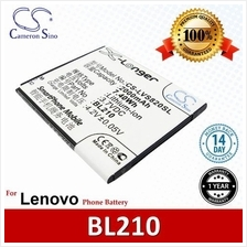 Original CS Phone Battery LVS820SL BL210 BL-210 Lenovo A656 A658T
