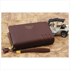 POLO FEIDKA Leather   Clutch Bag   Men Long Wallet   Hand Carry Bag 3f84588831