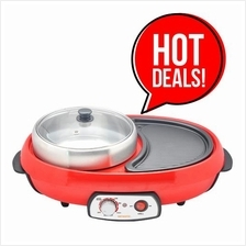 Flash Sales:: Sensonic Electric Grill with 3L Hotpot TS6686