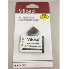Viloso NP-95 1800mAh Li-Ion Battery for Fujifilm F30 F31 X100 3D W1