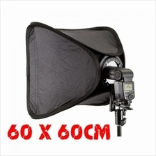 Easy-Folder Softbox Kit 60x60cm For Camera Flash