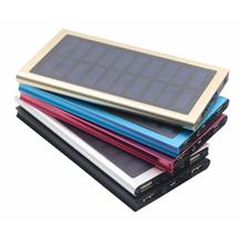 Solar Slim 20000mAH Powerbank/Power Bank With LED Light