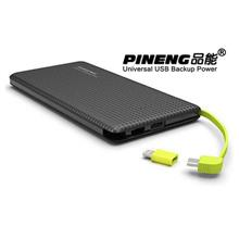 Pineng PN951 Shake & Start 10000mAH Slim Powerbank