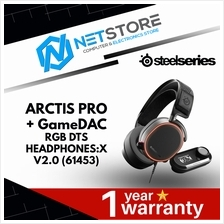 SteelSeries Arctis Pro+GameDAC RGB DTS Headphones:X v2.0 (61453)