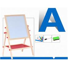 2 In 1 magnetic Blackboard And Whiteboard Double Sided