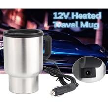 S/steel Car Hot Kettle VehicleThermal Travel Cup Handy