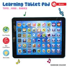 Mini Tablet Pad Educational Learning Letter Toy with Music Sounds