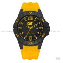 Caterpillar CAT Watches K1.121.27.137 KARBON Silicone Black Yellow