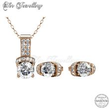 Eve Set embellished with crystals from Swarovski® )