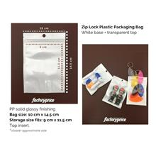 Zip Lock Bag 10cmx14.5cm Resealable Plastic Bag (100pcs/pack)