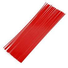 1.75MM STRAIGHT ABS FILAMENT PRINTING SUPPLIES FOR 3D PRINTER PEN (RED