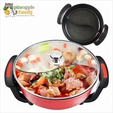 Korean 6 0l Multi Functional Non Stick Electric Steamboat Hot Pot With