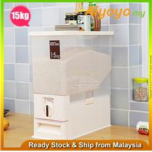 Double Cereal Dispenser Kitchen Storage Container Box Cup Organizer Ma
