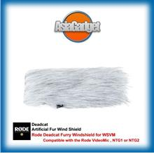 Rode Deadcat Furry Windshield for WSVM (for Videomic Rycote)