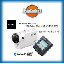 Sony FDR-X3000R 4K Actioncam + Live-View Remote Kit