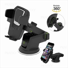 Adjustable 360 Rotating Car Windshield Dashboard Phone Holder Mount