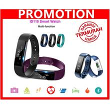 iD115 Bluetooth Smart Band Bracelet Fitness Tracker Sports Wristband