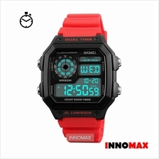 SKMEI Digital Watch 1299 - Classic Design - Chronograph 50m Water Resi