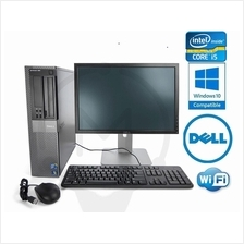 "Dell Optiplex 990 Intel Core i5 19"" Screen 4GB 500GB Windows 7 Office"