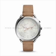 FOSSIL FTW1200 Women's Q Accomplice Hybrid Smartwatch Leather Sand