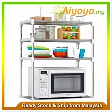 3 Tiers Layer Kitchen Rack Shelf Storage Organizer Shelves Microwave O