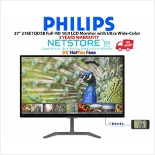 "Philips 27"" 276E7QDSB Full HD 16:9 LCD Monitor with Ultra Wide-Color"