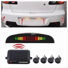 Wireless Car Parking Radar Car Parktronic LED Parking Monitor With 4 S..