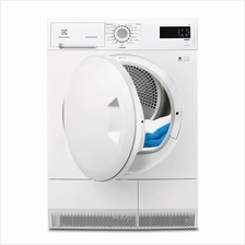 Electrolux Condenser Dryer With IQ Touch and Rotary Knob - EDC2086PDW)