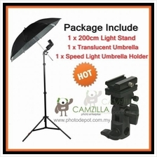 Camzilla Reflective Umbrella Speed Lite Flash Mount Studio Light