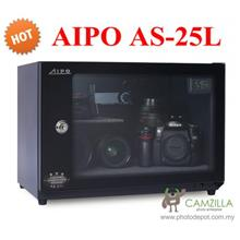 AIPO ANALOG SERIES AS-25L DRY CABINET (25L) - BLACK