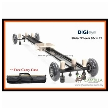 DIGIEYE 80CM Silent Slider Dolly for shooting movie 2in1 Dolly Slider