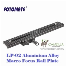 Fotomate LP-02 Macro Turning Slider Tripod Head Plate Two-way Movable