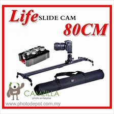 Life Slidecam 80cm Camera Slider - DSLR Camera Track Slider Video