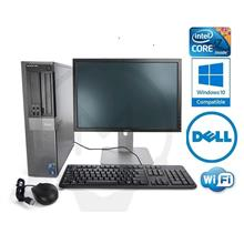 Dell Optiplex 980 SFF Intel Core i5 4GB 500G + 19 Screen Windows 7 PC