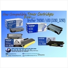 Brother TN580/TN650 (3280/3290) Compatible MONO Toner cartridges