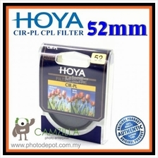 100% Genuine 52MM HOYA Circular Polarizer (CPL) FILTER