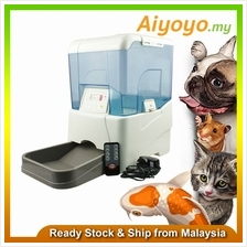Automatic Pet Food Feeder Dispenser Cat Kitten Dog Puppy Koi Fish Pond